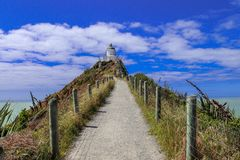 Bryłka punktu latarnia morska Farol zdjęcia royalty free