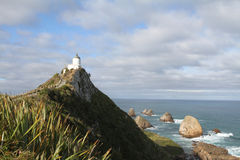 Bryłka punktu latarnia morska, Południowa Sceniczna trasa Obrazy Royalty Free