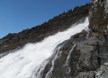Bryłka Spada przy Juneau Alaska Obrazy Stock