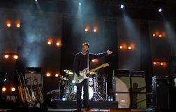 Bryan Adams In Concert Royalty Free Stock Image