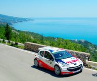 Bryan Bouffier the IRC PRIME Yalta Rally 2011 Royalty Free Stock Photo