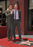 Bryan Cranston & Aaron Paul Royaltyfria Bilder