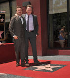 Bryan Cranston & Aaron Paul Stock Photo