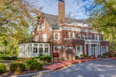 Bryan dom przy Tobias Pavaillion przy Indiana uniwersytetem Fotografia Royalty Free