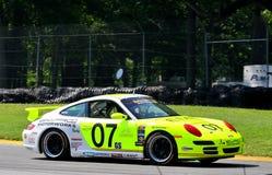 Bryan Sellers compete Porsche 997 Imagem de Stock Royalty Free