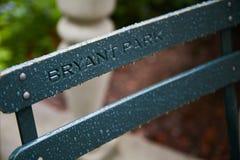 bryant πάρκο Στοκ φωτογραφία με δικαίωμα ελεύθερης χρήσης