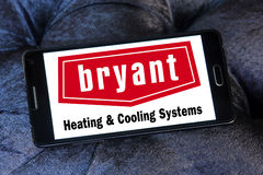 Bryant heating and cooling systems company logo Stock Images
