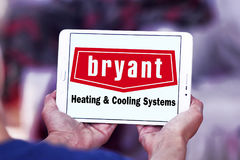Bryant heating and cooling systems company logo Royalty Free Stock Image