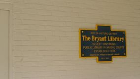 Bryant Library stock footage