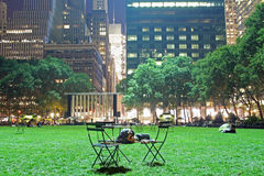Bryant Park Royalty Free Stock Photo