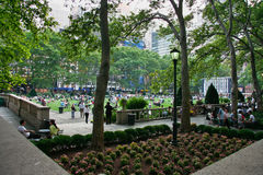 Bryant Park Stock Photography