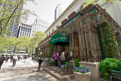 Bryant Park and buildings, New York City Royalty Free Stock Photos