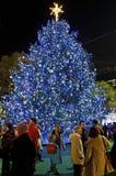 Bryant Park Christmas Tree Stock Photos