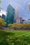 Bryant Park e construções, New York City Foto de Stock