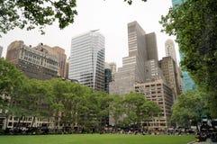 Bryant Park en New York City imágenes de archivo libres de regalías