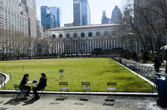 Bryant Park, Manhattan Royalty Free Stock Photography