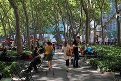 Bryant Park, Manhattan Stock Photo