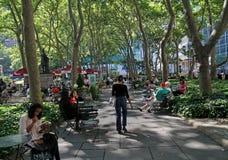 Bryant Park, Manhattan Royalty Free Stock Photo