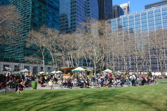 Bryant Park in New York City Stock Image