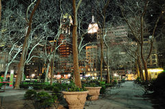 Bryant Park New York Stock Photography
