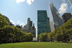 Bryant Park New York City Stock Images