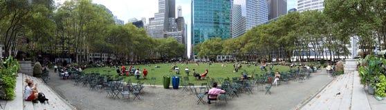 Bryant Park New York City Royaltyfria Bilder
