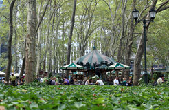 Bryant Park, New York City Imagen de archivo