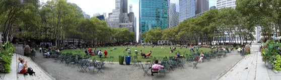 Bryant Park, New York City Royalty Free Stock Images