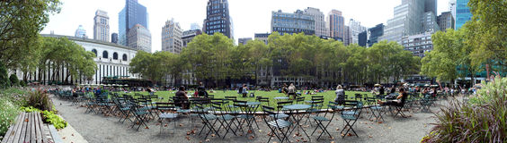 Bryant Park, New York City Stock Image