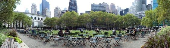 Bryant Park, New York City Stock Image