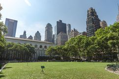 Bryant Park Royalty Free Stock Image