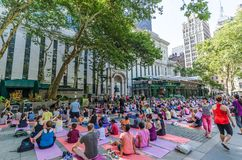 Bryant Park Royalty Free Stock Photography