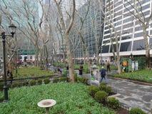 Bryant Park, Nowy Jork obraz royalty free