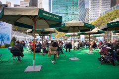 Bryant Park NYC Royalty Free Stock Photography
