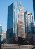 Bryant Park , NYC. Midtown Manhattan highrise buildings as seen from Bryant Park, New York Stock Photography
