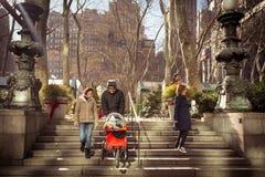 Bryant Park NYC Imagenes de archivo