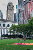Bryant Park NYC Stock Images