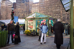 Bryant Park NYC Royalty Free Stock Photos