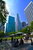 The Lawn Bryant Park Royalty Free Stock Images