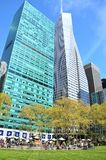 Bryant Park in Spring Royalty Free Stock Images