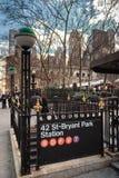 Bryant Park Stock Photography