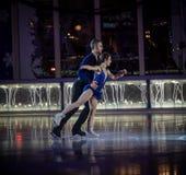 Bryant Park Tree Lighting Performance arkivfoton