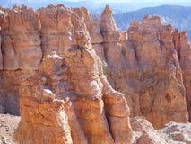 bryce多个峡谷的碎片 库存照片