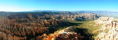 bryce峡谷全景 库存图片