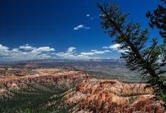 Bryce峡谷和以远 库存照片