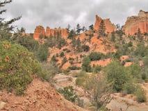 Bryce峡谷国家公园不祥之物 库存图片