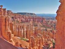 Bryce峡谷国家公园不祥之物 免版税库存图片