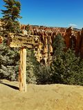 Bryce峡谷国家公园,犹他,美国 免版税库存图片