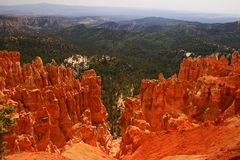Bryce峡谷国家公园,犹他 免版税库存照片