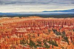 Bryce峡谷国家公园,犹他,美国 库存图片